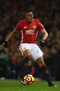 Martial playing for Man U