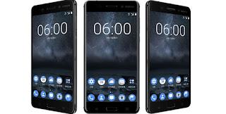 Harga dan revie Nokia 8