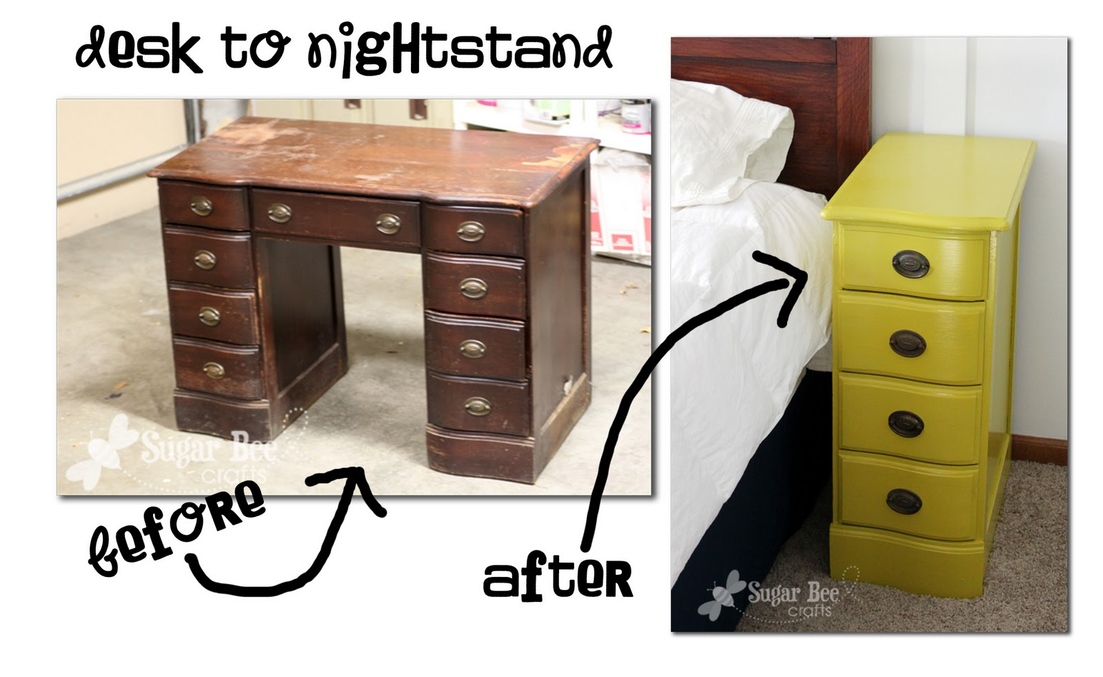 Nightstands From A Desk