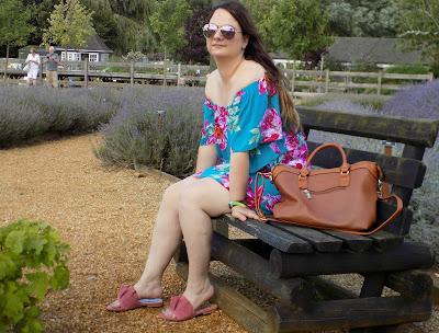 Matalan floral print bardot dress
