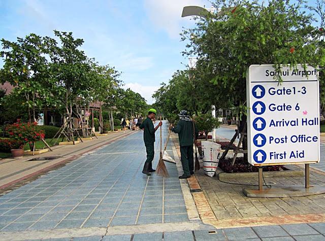 koh samui airport in thailand