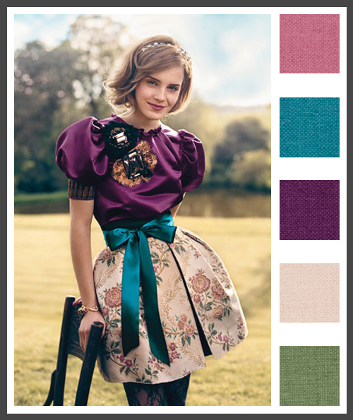 Lizzy b loves visual sparkle color - Jewel tones color palette ...