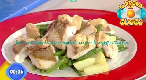 Tranci di dentice con insalata di patate e fagiolini ricetta Zoppolatti da Prova del Cuoco