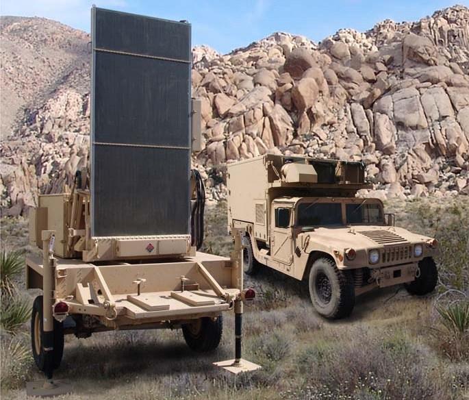 РЛС контрбатарейної боротьби AN/TPQ-36
