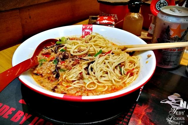 The Ultimate Spicy Ramen at Ramen Nagi