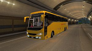 Czech Student Agency Bus mod and Passengers