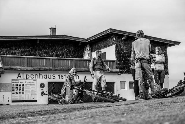 Mit dem Mountainbike aufs Alpenhaus am Kitzbüheler Horn