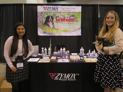 I love seeing all my favorite brands, like Zymox, at the BlogPaws pet blogging and social media conference!  I really like their Oratene line of Brushless Pet Dental Care products.