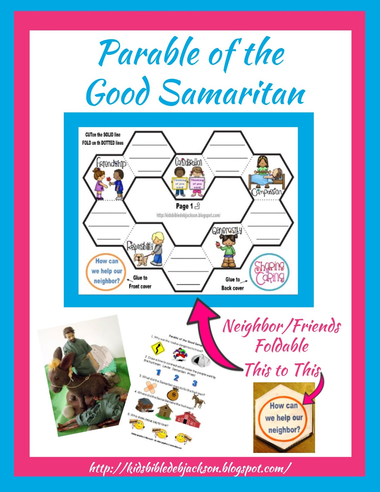 Bible Fun For Kids Cathy S Corner Parable Of The Good