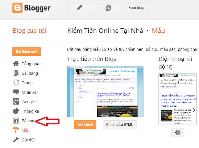 Kiếm tiền Online trên mạng từ Blog nhanh nhất đẹp nhất mới nhất