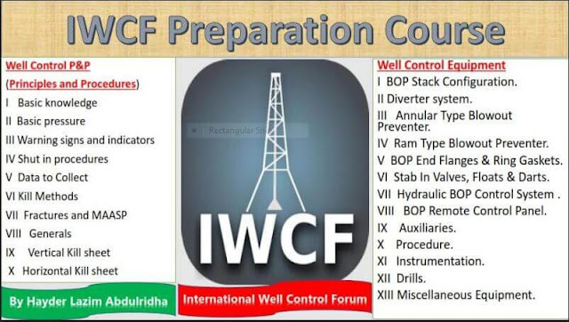 Iwcf preparation course Principles and procedures