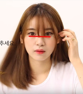 cara potong pon ala korea