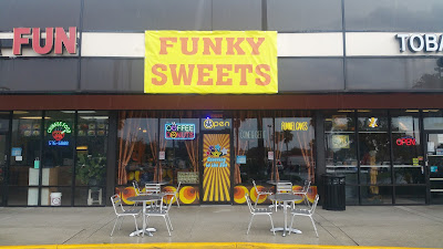 Funky Sweets Vinyl Banner | Banners.com