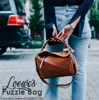 Loewe's Puzzle Bag Streetstyle Bolso Puzzle Loewe