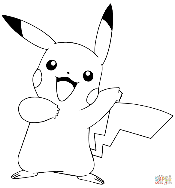 Pikachu From Pokmon Go
