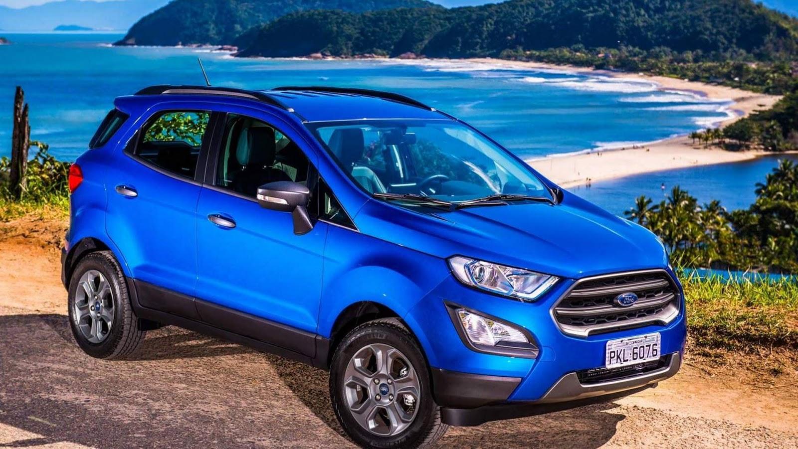 Novo ford ecosport freestyle autom tico 2018 pre o