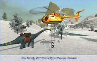 Game Helicopter Snow Hill Rescue 17 App