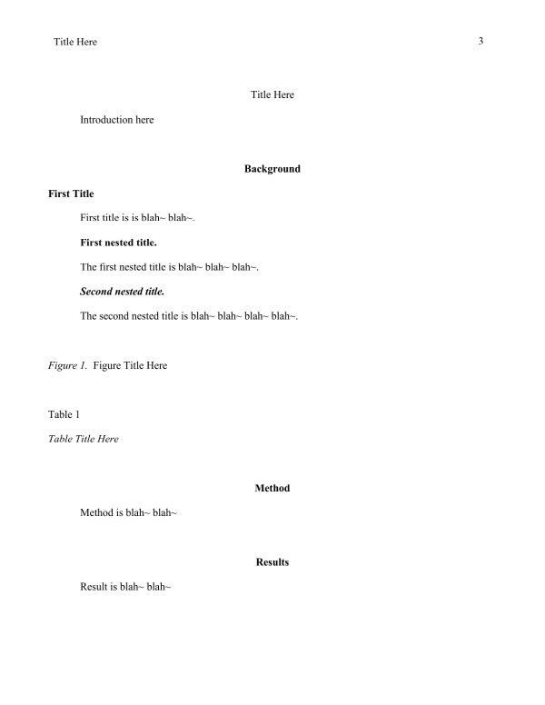 Ms word apa template for Free apa template 6th edition