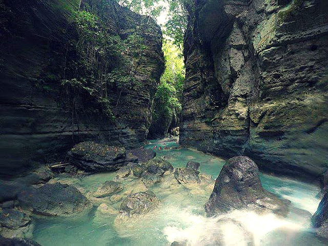 canyoneering cebu, Badian