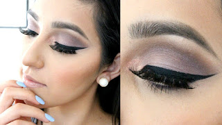 How-to-apply-natural-makeup-&-eye-makeup-ideas-for-brown-10