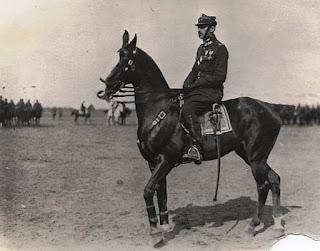 Władysław Anders na koniu - lata 30-e XX wieku