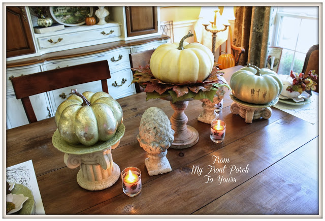 From My Front Porch To Yours Fall Dining Room