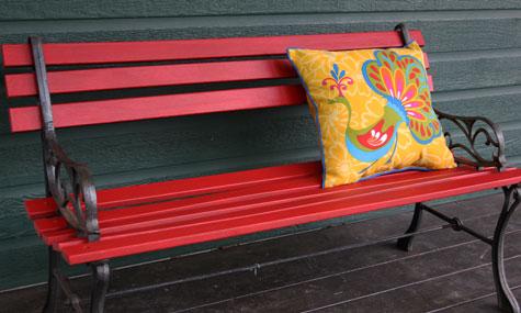 tchoubi petites histoires cr atives mon petit projet du week end banc de parc. Black Bedroom Furniture Sets. Home Design Ideas