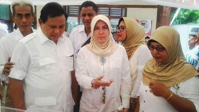Soal Foto Asma Dewi Saracen Bersama Prabowo Subianto, Mau Tahu Gimana Respon Gerindra?