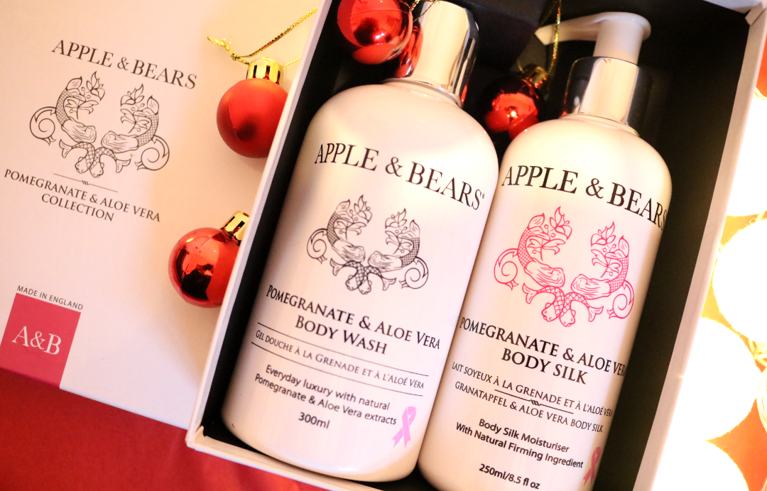 Luxury Christmas Gift Set from Apple & Bears