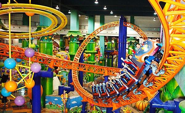 Roller Coaster Berjaya Times Square