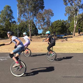 UniNats 2017 Australian Unicycle Championships 100m race