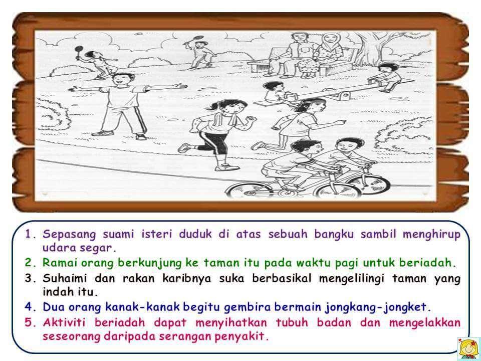 Contoh Bina Ayat Prasekolah - Hontoh