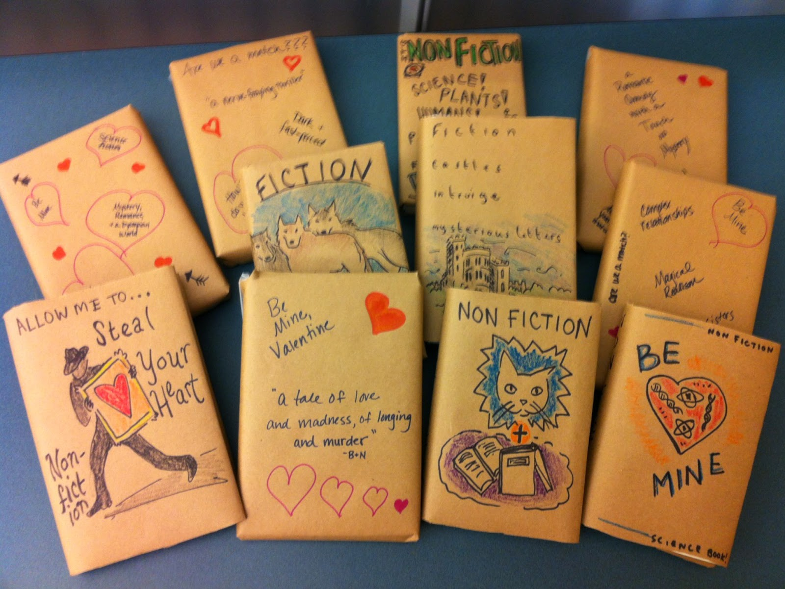 Infowhelm: Have you ever had a Blind Date .. with a book?