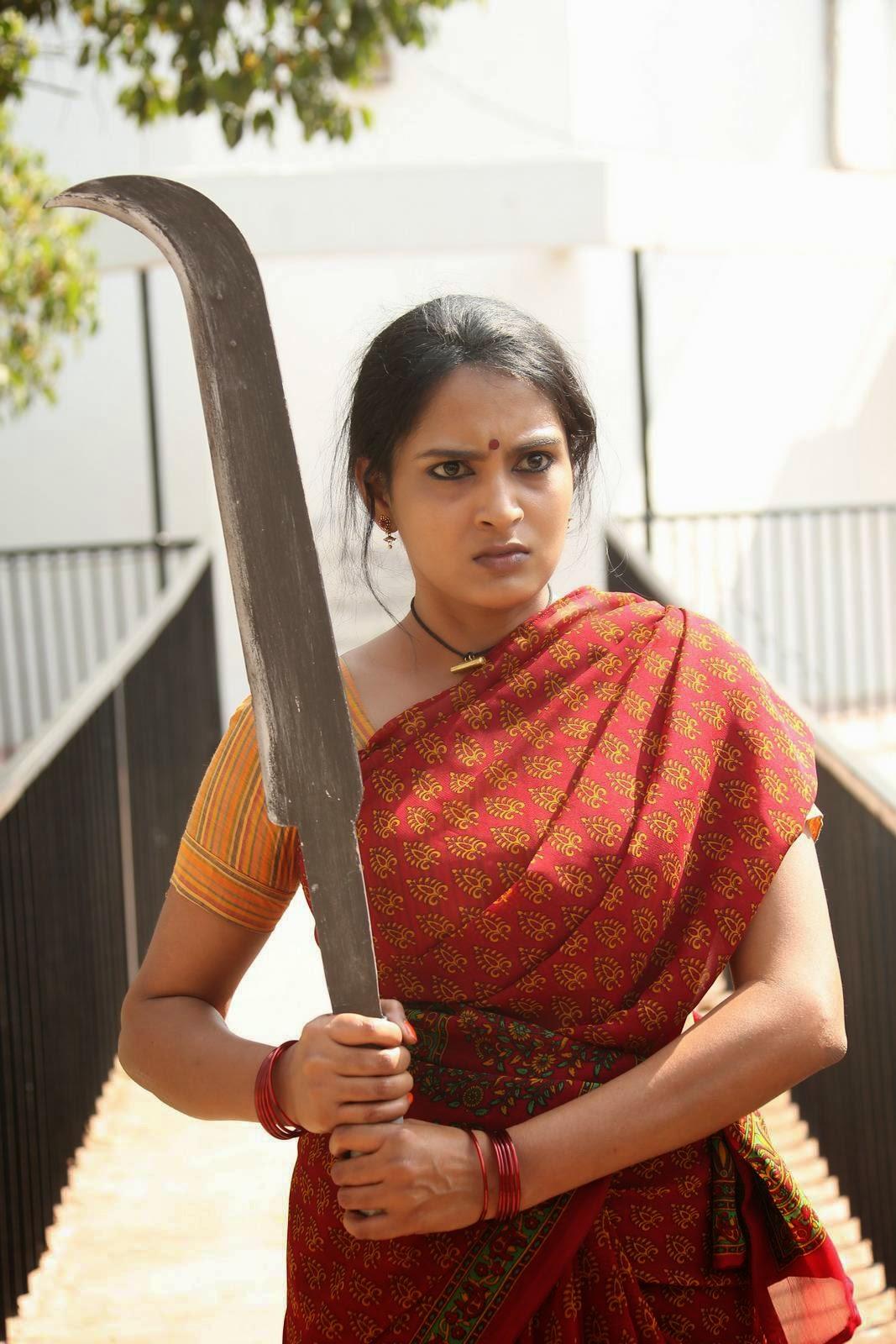 Himaja-Veta Kodavallu Telugu Movie Wallpapers, Telegu Actress Himaja Hot Pics In sare from Veta Kodavallu Movie