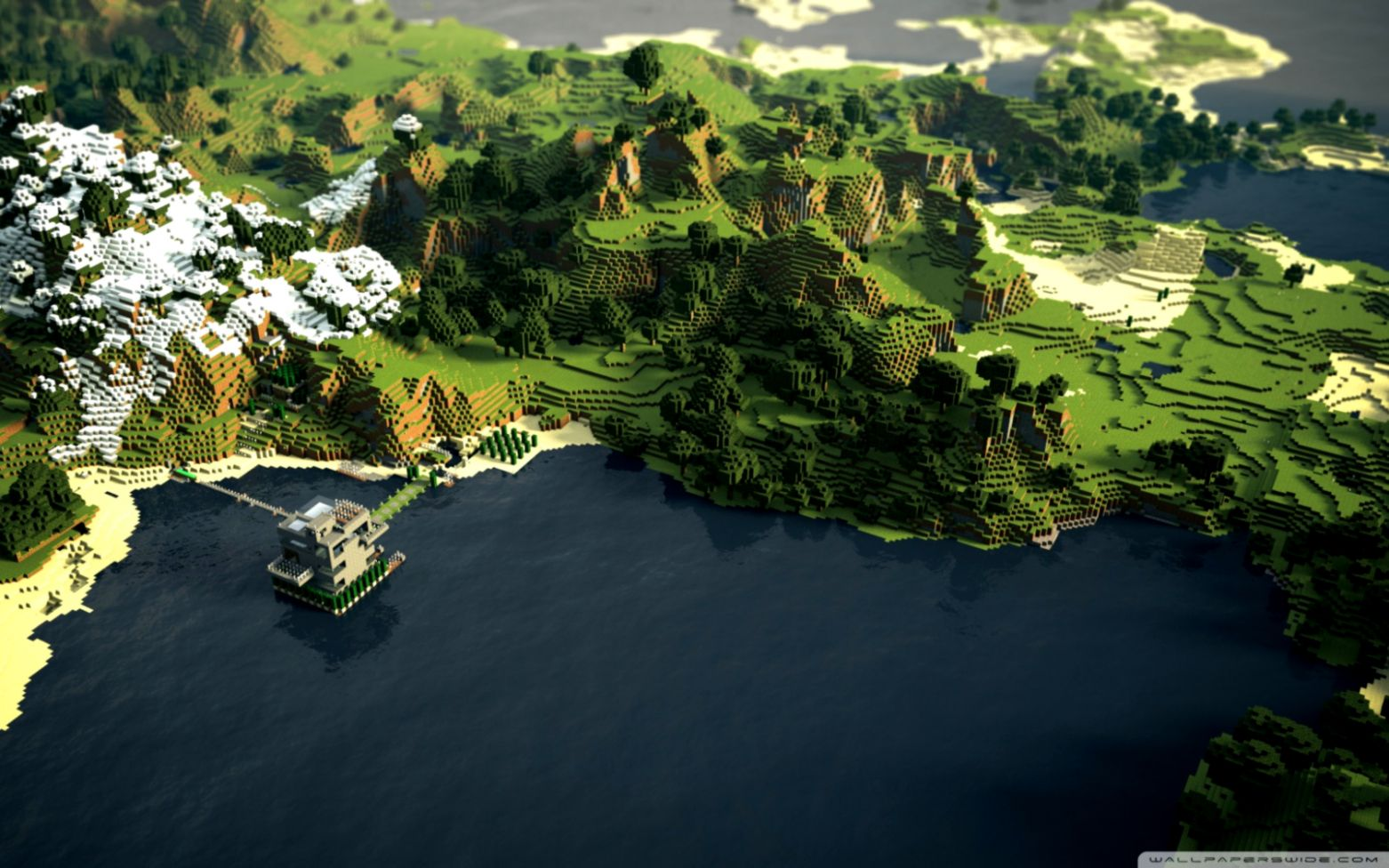 Minecraft Wallpaper Widescreen Hd Wallpapers Moving