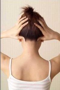 shuai gu point for treatment headache