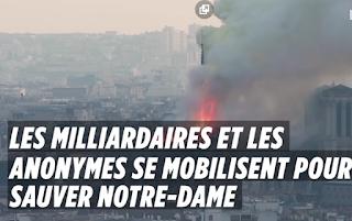 Incendie de Notre-Dame : « Le péril du feu est écarté », « doutes sur comment la structure va résister »