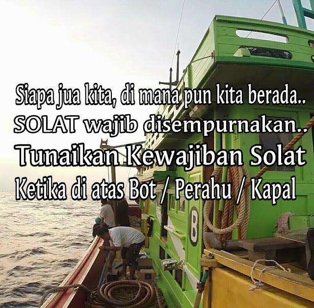 Solat ketika di lautan