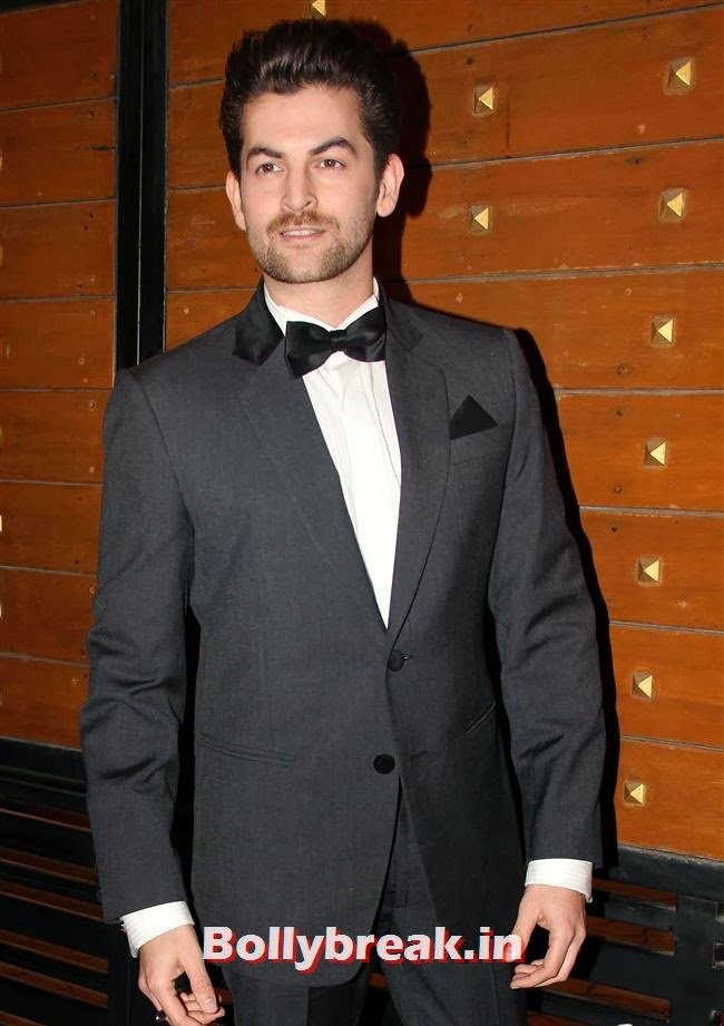 Neil Mukesh, Filmfare Awards 2014 Red carpet Images