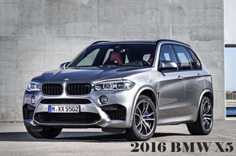 2016 BMW X5 Release Date and Price