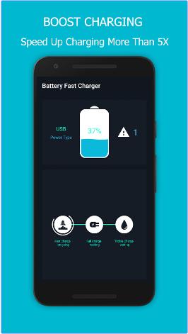 افضل تطبيقات الحفاظ على البطارية و تسريع الشحن Fast Charger