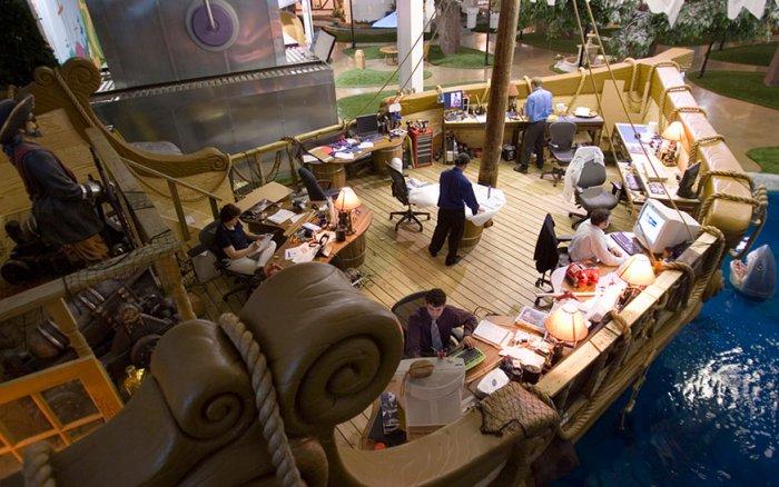 Desain Kantor Inventionland Design Factory