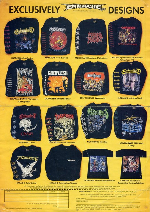 Carcass Hat obituary morbid angel death metal deicide slayer entombed napalm dio