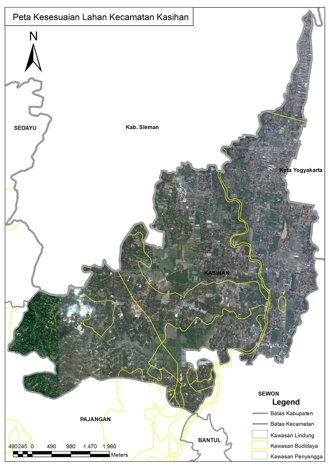 Bantul Magnificent: Kumpulan Peta Kabupaten Bantul