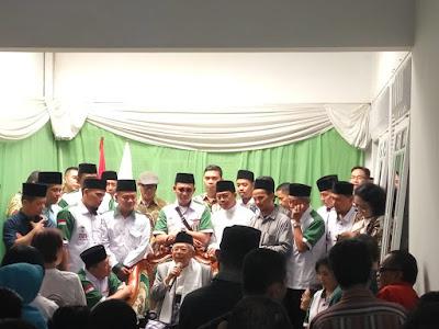 KH. Ma'ruf Amin: Jokowi Sudah Membangun, Apa itu Tidak Kelihatan?