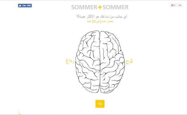 اختبار ميول الدماغ