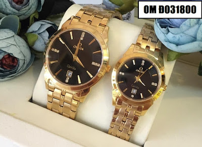 đồng hồ cặp đôi omega đ031800