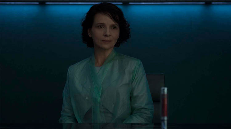 Juliette Binoche en Ghost in the Shell