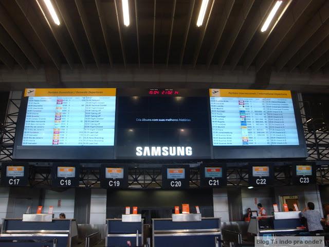 aeroporto de Guarulhos - terminal 2