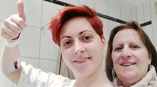 Η 33χρονη από την Ελασσόνα που νίκησε τη μάχη με τoν καρκίνο στο κεφάλι!